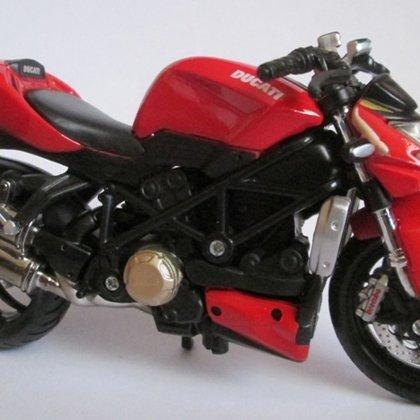 2009 Ducati Streetfighter S (Maisto)